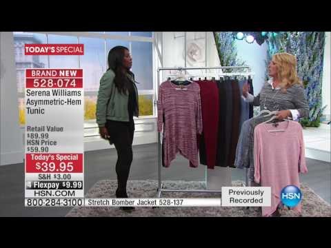 HSN | SERENA WILLIAMS Signature Statement Fashions 03.01.2017 - 05 AM