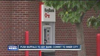 PUSH Buffalo pickets Key Bank