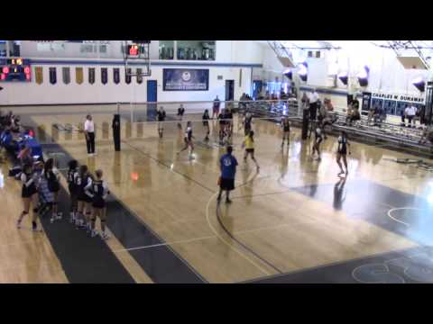 BUTLER COMMUNITY COLLEGE : BC3 -VS- POTOMAC STATE--  LADIES VOLLEYBALL