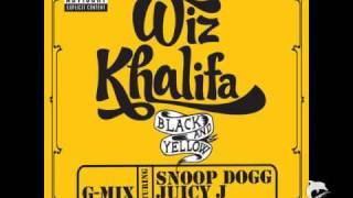 Wiz Khalifa feat. Snoop Dogg, Juicy J & T-Pain - Black And Yellow G-MIX [HQ]