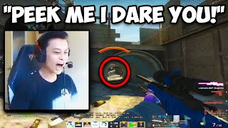 STEWIE DELETES EVERYONE THAT PEEKS HIM! MIRAGE PHOON MOVEMENT! CS:GO Twitch Clips
