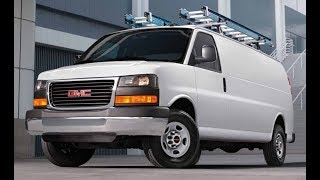 2018 GMC SAVANA  2500S Extreme Edition Interior and Exterior Overview