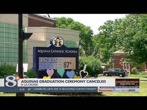 Aquinas Catholic Schools cancel graduation ceremony