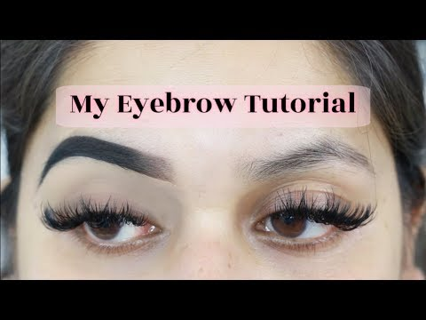 EYEBROW TUTORIAL (updated) আইব্রো টিউটোরিয়াল | 2019 | SHAHNAZ SHIMUL Back To Basics