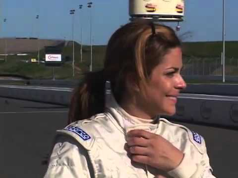 Maryeve Dufault - Sexy racer or what? - YouTube