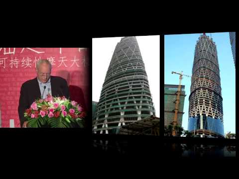 "CTBUH 2012 Shanghai Congress - Chris Wilkinson, ""Guangzhou Finance Centre"""