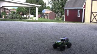 New Bright RC 1:10 Scale Grave Digger Running Video