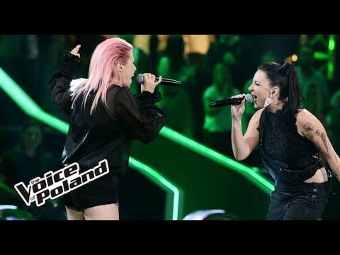 """Marta Gałuszewska vs Dominika Chmielińska - """"Bad Romance"""" - Bitwy - The Voice of Poland 8"""