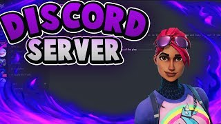 Discord server for TRADING ACCOUNTS and TOURNAMENTS IN FORTNITE (discord link in desc)