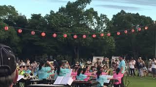 芳川公園 祭り 吹奏楽部演奏