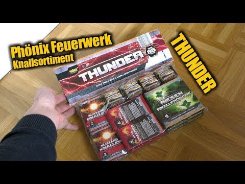 Phönix Feuerwerk Thunder - Knallsortiment | PyroManiac & PyroDelay & Street Fireworker