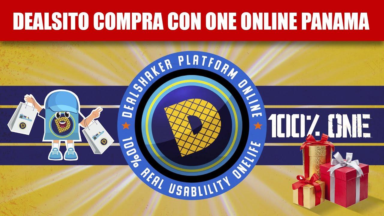 Compra en Panamá con códigos QR productos de DealShaker al 100% ONE. Hay muchas ofertas disponibles