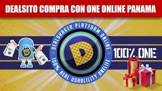 Dealsito Compra al 100% ONE Online en Panamá con Códigos QR