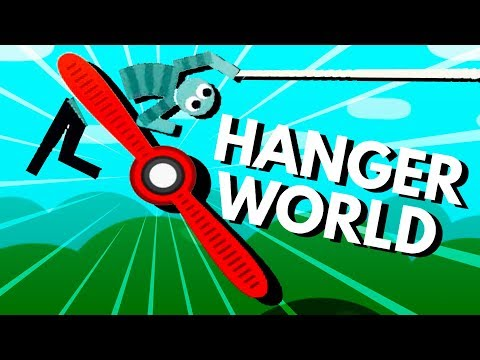 Dodging GIANT FANS and Collecting GOLD COINS! - Hanger World Gameplay
