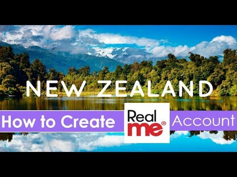 How To Create Real Me Account | New Zealand Visa, Immigration, Work Permit