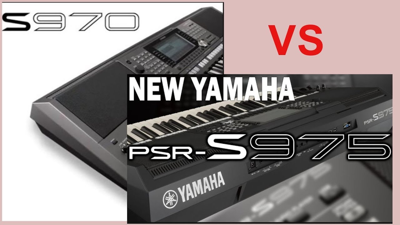 specs keyboard yamaha psr s975 vs psr s970 youtube. Black Bedroom Furniture Sets. Home Design Ideas
