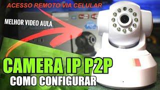 Melhor Passo a Passo Como configurar camera IP + WIFI + acesso remoto no Celular ip03ck