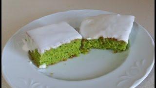 Ispanaklı Kek Nasıl Yapılır - Çok Kolay Ispanaklı Kek Tarifi