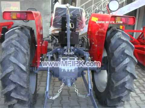 Massey Ferguson Tractor Mf 240 2 Wd 50 Hp Wmv Youtube