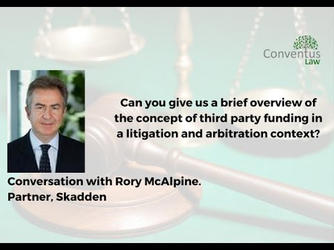Asia Pacific - Overview of third party funding.