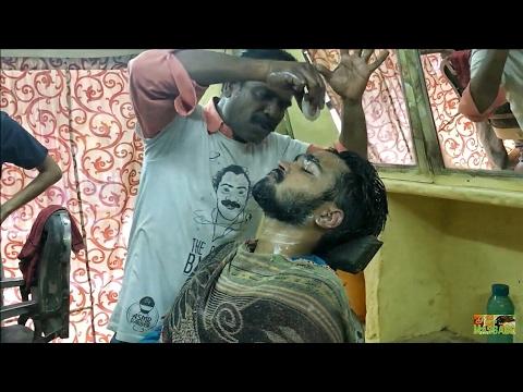 World's Greatest Head Massage (Face Massage) Part 3 - Baba The Cosmic Barber & Puremassage   ASMR
