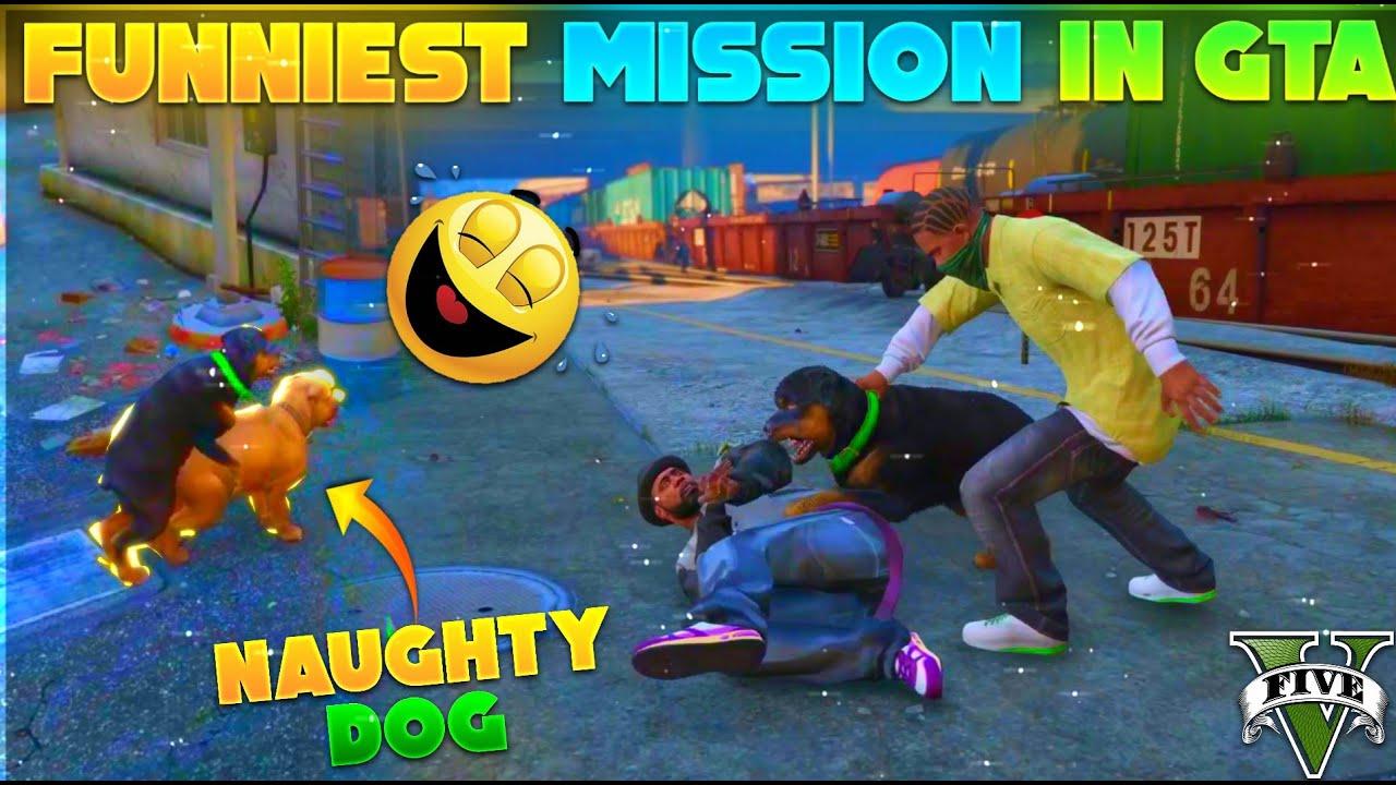 Kamina Kutta Mission || GTA 5 - Desi Gamers