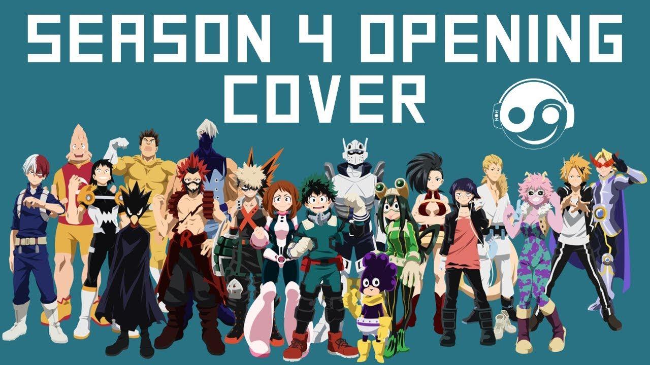 My Hero Academia Season 4 Op Theme Polaris Hq Cover Styzmask