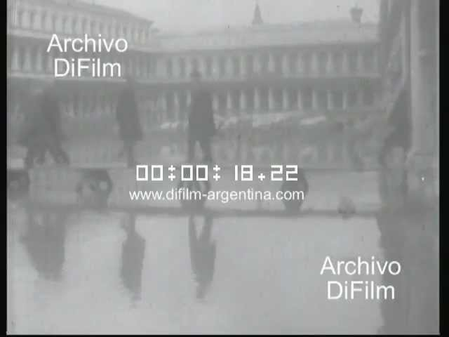 DiFilm - Floods in Florence, Italy (1966) Travel Video