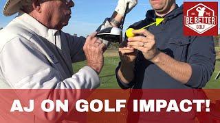 Golf ÇARPIŞMA Anı AJ Bonar, Gerçek
