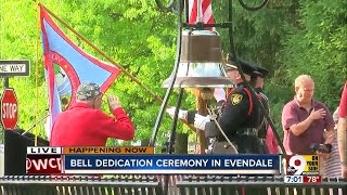 Bell dedication ceremony in Evendale