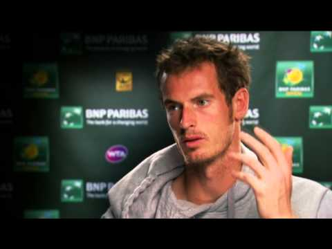 Indian Wells 2013 Wednesday Interview Murray