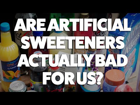 artificial sweeteners are really bad Home » harvard health blog » could artificial sweeteners can diet beverages really be bad for it didn't look at use of artificial sweeteners in foods or.