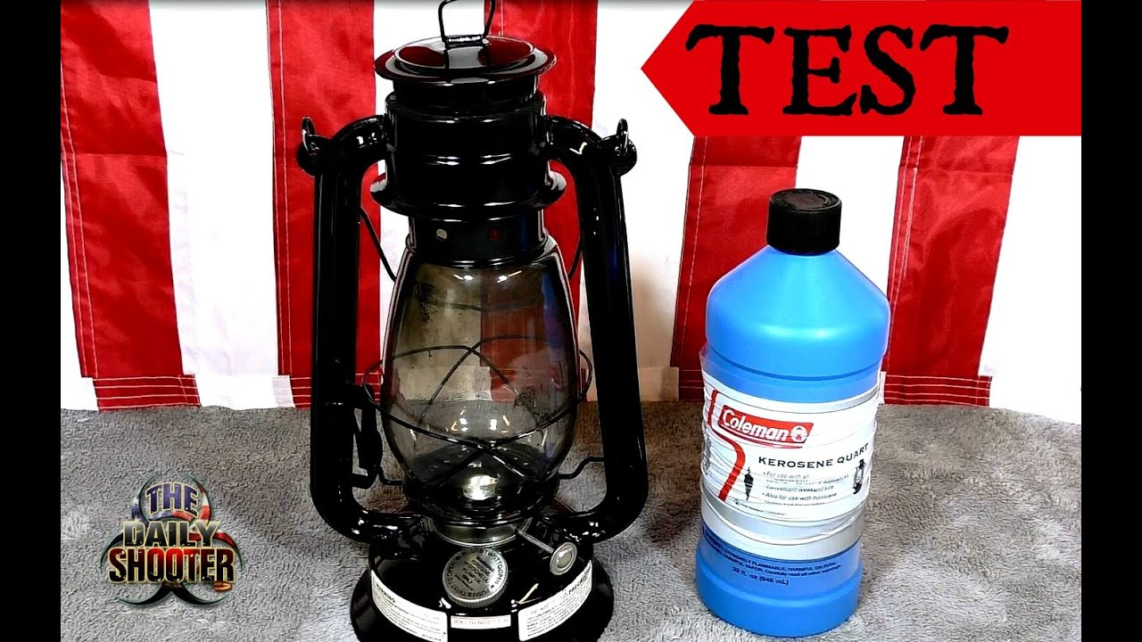 Preppers Oil Lamp Test & Review $6 Walmart lamp with ...