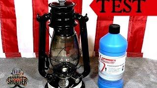 Preppers Oil Lamp Test & Review $6 Walmart lamp with Colman Kerosene
