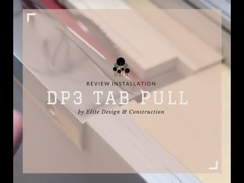 Elite Design and Construction  - Tab Pull Install