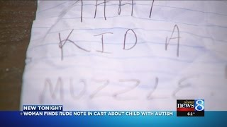 north muskegon mother finds nasty note about son with autism