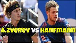 Alexander Zverev vs Yannick Hanfmann | 2R Munich 2018 Highlights