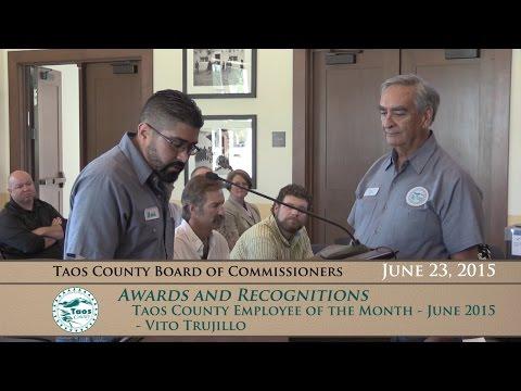 Taos County Board of Commissioners, Regular Meeting - June 23, 2015