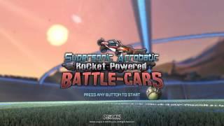 Rocket League Easter Egg for Supersonic Acrobatic Rocket Powered Battle cars