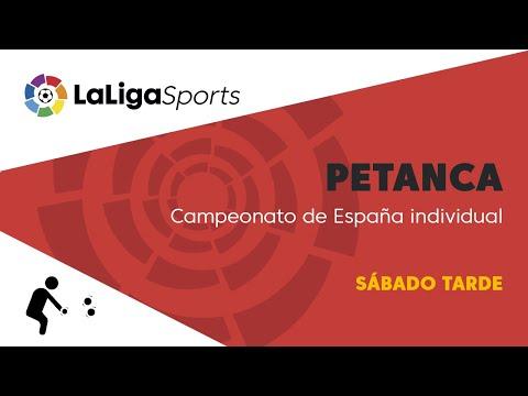 📺 Campeonato de España individual de petanca - Sábado tarde