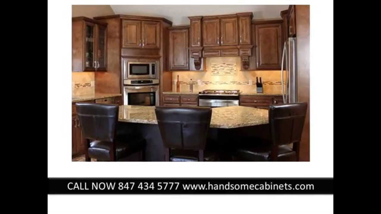 J Amp K Rta Cabinets Chicago Chocolate Maple Glaze By Handsome