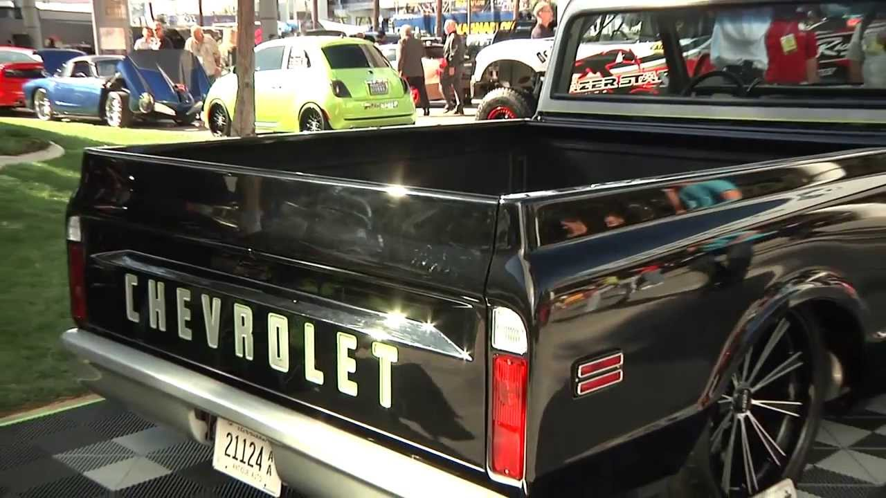 Goodmark Industries Sponsored 71 Chevy C10 Build As Seen At Sema 2013