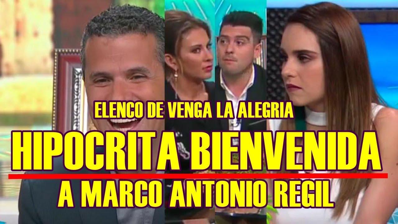 CAMARAS TRAICIONAN A ELENCO DE VENGA LA ALEGRIA con su HIPÓCRITA ...