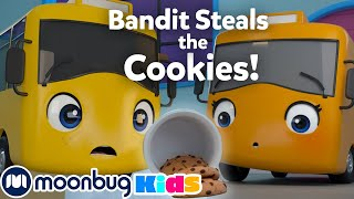 Bandit Steals the Cookies! - Mommy's Surprise! | Go Buster | Stories | Cartoons for Kids