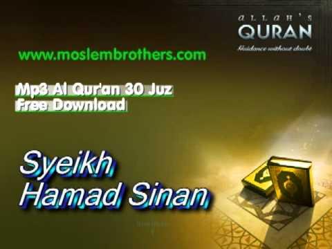 Free Mp3 Quran 30 Juz Syeikh  Hamad Sinan
