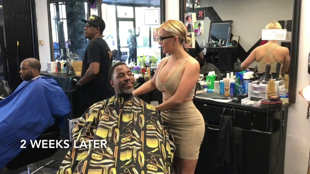 male clients give
