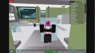 Roblox - Freeze Tag! First Video!!! :) Sorry if it's not that good.