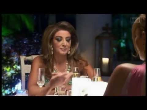 Gina dealing with everyone attacking at her on The Real Housewives of Melbourne
