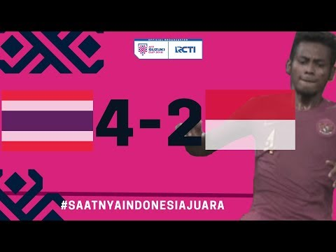 THAILAND VS INDONESIA  (AFF) 4 - 2