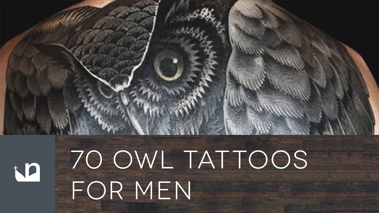 Great Horned Owl Black And Grey Tattoo 70 Owl Tattoos ...